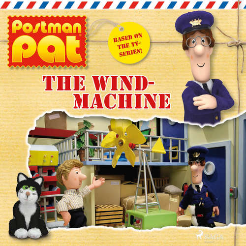 Audiobook Postman Pat - The Wind Machine (EN) - John A. Cunliffe - Michele Melega