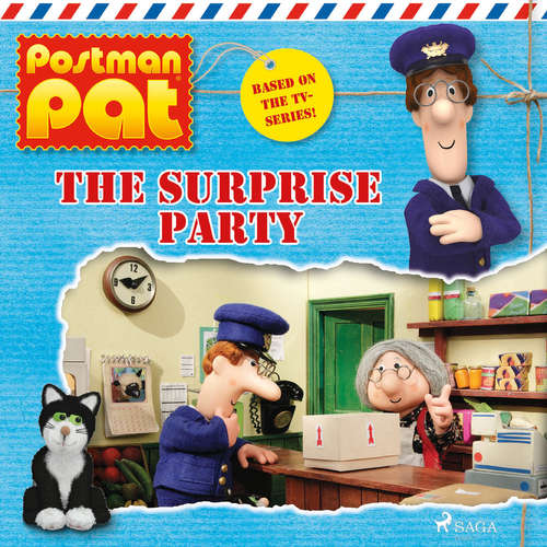 Audiobook Postman Pat - The Surprise Party (EN) - John A. Cunliffe - Michele Melega