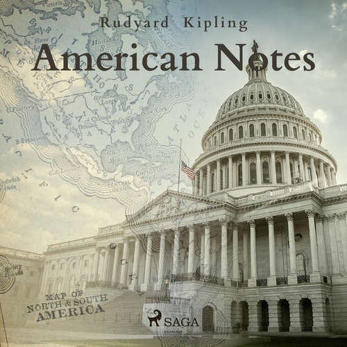 Audiobook American Notes (EN) - Rudyard Kipling - Tim Bulkley