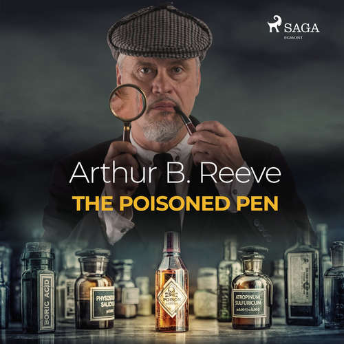 Audiobook The Poisoned Pen (EN) - Arthur B. Reeve - Elliott Miller