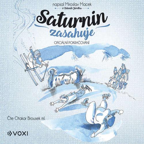 Audiokniha Saturnin zasahuje - Miroslav Macek - Otakar Brousek ml.