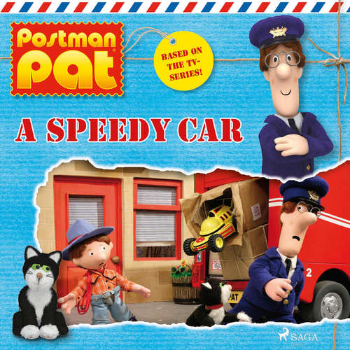 Audiobook Postman Pat - A Speedy Car (EN) - John A. Cunliffe - Michele Melega