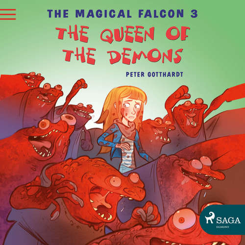 Audiobook The Magical Falcon 3 - The Queen of the Demons (EN) - Peter Gotthardt - Jennifer Wagstaffe