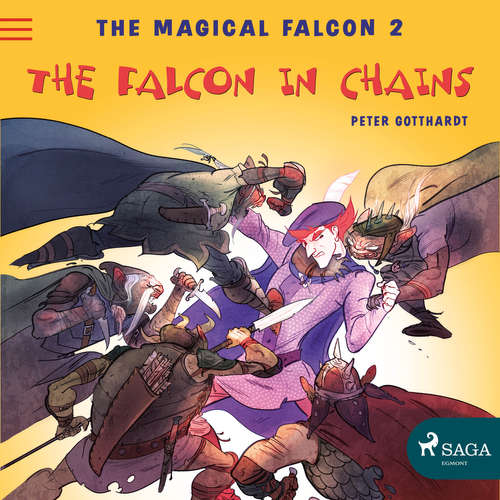Audiobook The Magical Falcon 2 - The Falcon in Chains (EN) - Peter Gotthardt - Jennifer Wagstaffe
