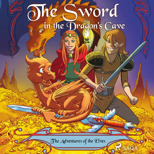Audiobook The Adventures of the Elves 3: The Sword in the Dragon's Cave (EN) - Peter Gotthardt - Jennifer Wagstaffe