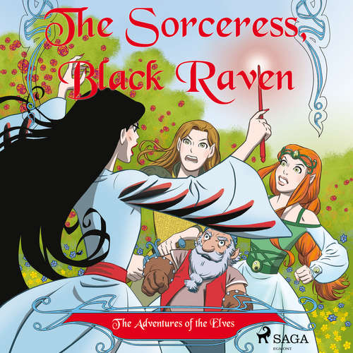Audiobook The Adventures of the Elves 2: The Sorceress, Black Raven (EN) - Peter Gotthardt - Jennifer Wagstaffe