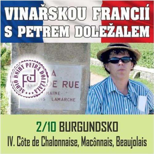 Audiokniha Vinařskou Francií s Petrem Doležalem: Burgundsko (IV. Cote de Chalonnaise, Maconnais, Beaujolais) - Petr Doležal - Petr Doležal