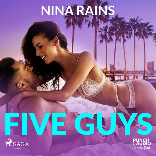 Audiobook Five Guys (EN) - Nina Rains - Laurie Catherine Winkel