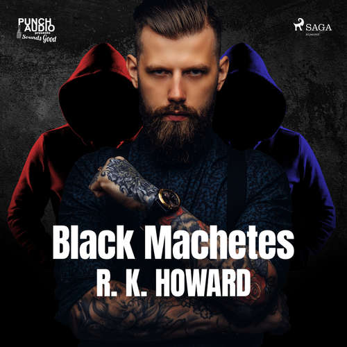 Audiobook Black Machetes (EN) - R. K. Howard - Peter Berkrot
