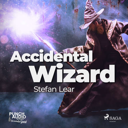 Audiobook Accidental Wizard (EN) - Stefan Lear - Aaron Landon