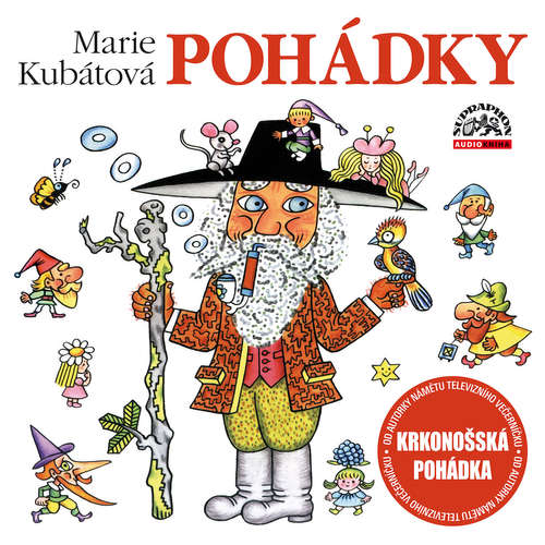 Audiokniha Marie Kubátová - Pohádky - Marie Kubátová - Jana Boušková