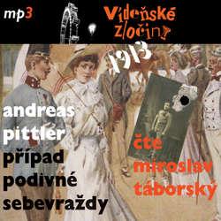 Audiokniha 1913 - Případ podivné sebevraždy - Andreas Pittler - Miroslav Táborský