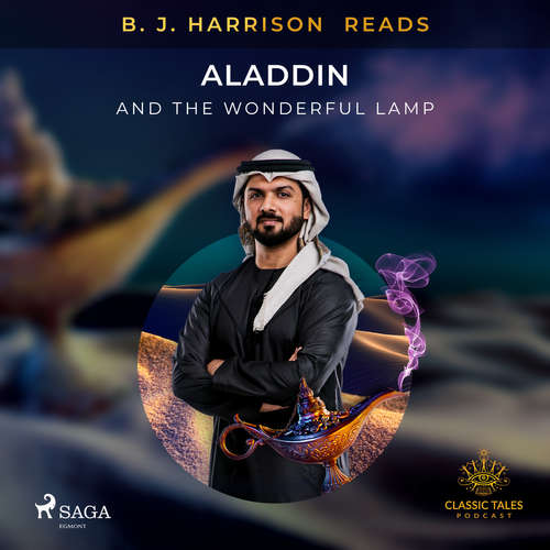 Audiobook B. J. Harrison Reads Aladdin and the Wonderful Lamp (EN) - – Anonymous - B. J. Harrison