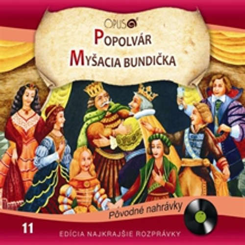 Audiokniha Najkrajšie rozprávky 11 - Rôzni autori - Marián Labuda