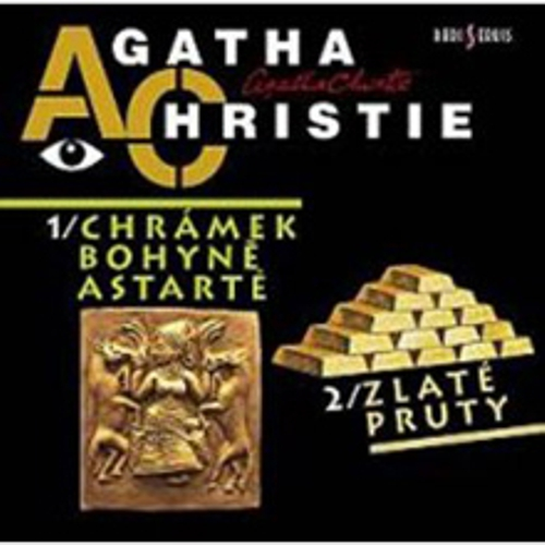 Chrámek bohyně Astarté, Zlaté pruty - Agatha Christie (Audiokniha)