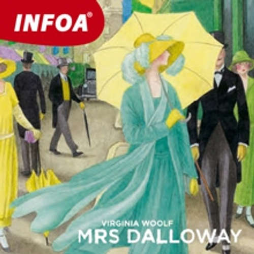 Audiobook Mrs Dalloway (EN) - Virginia Woolfová - Rôzni Interpreti