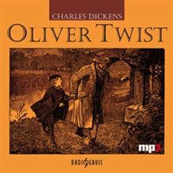 Audiokniha Oliver Twist - Charles Dickens - Igor Bareš