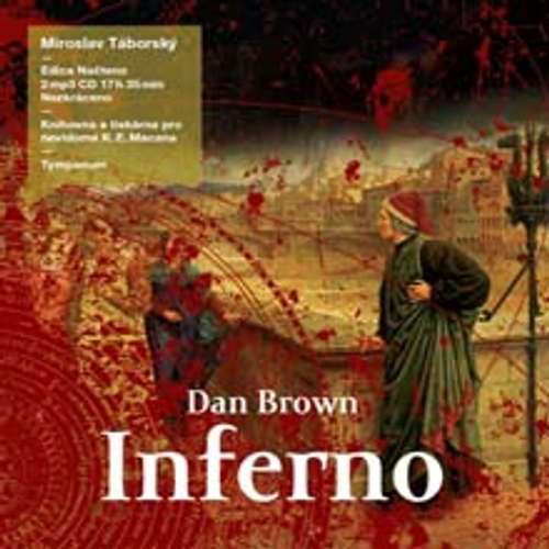 Audiokniha Inferno - Dan Brown - Miroslav Táborský