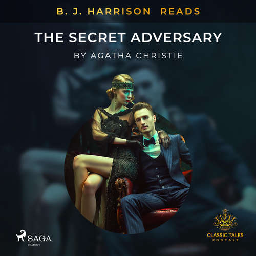 Audiobook B. J. Harrison Reads The Secret Adversary (EN) - Agatha Christie - - -
