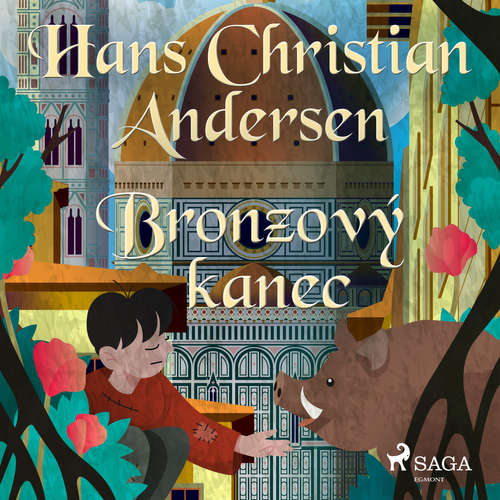 Audiokniha Bronzový kanec - H.c. Andersen - Vaclav Knop
