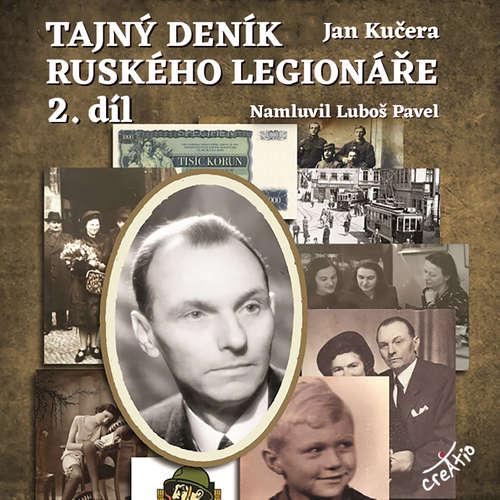 Audiokniha Tajný deník ruského legionáře 2 - Jan Kučera - Luboš Pavel