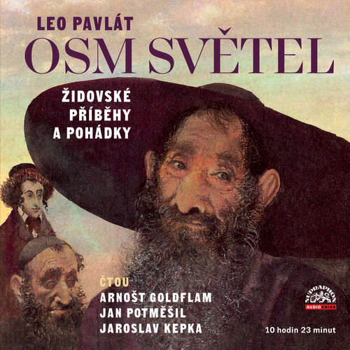 Audiokniha Osm světel / Židovské příběhy a pohádky - Leo Pavlát - Arnošt Goldflam