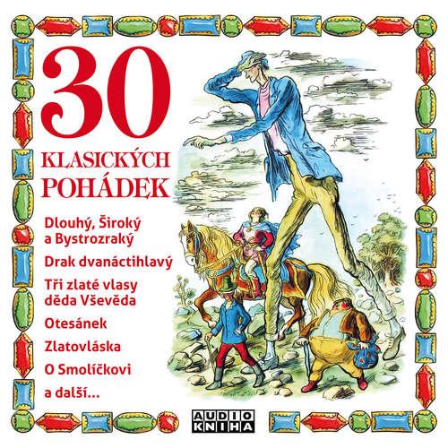 Audiokniha 30 klasických pohádek -  národní pohádka - Oldřich Kaiser