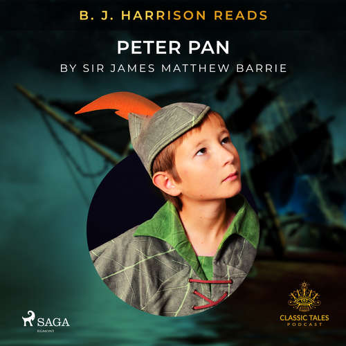 Audiobook B. J. Harrison Reads Peter Pan (EN) - J.M. Barrie - B. J. Harrison