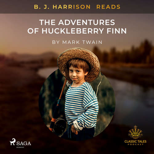 Audiobook B. J. Harrison Reads The Adventures of Huckleberry Finn (EN) - Mark Twain - B. J. Harrison