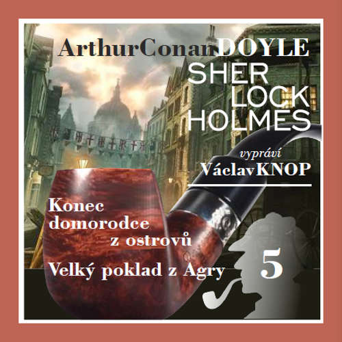 Audiokniha Podpis čtyř 5 - Arthur Conan Doyle - Václav Knop