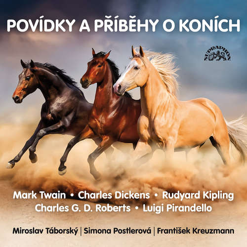 Audiokniha Povídky a příběhy o koních - Mark Twain - Miroslav Táborský