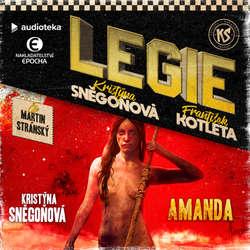 Audiokniha Amanda - Kristýna Sněgoňová - Martin Stránský