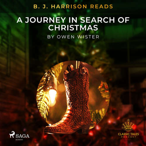 Audiobook B. J. Harrison Reads A Journey in Search of Christmas (EN) - Owen Wister - B. J. Harrison
