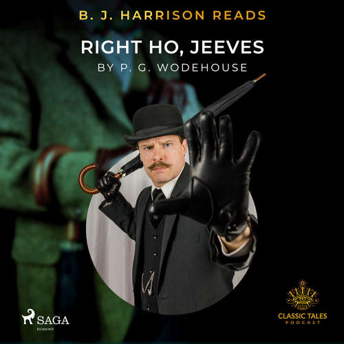Audiobook B. J. Harrison Reads Right Ho, Jeeves (EN) - P.G. Wodehouse - B. J. Harrison
