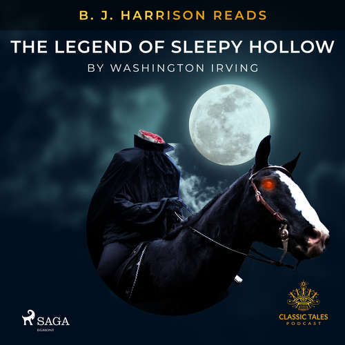 Audiobook B. J. Harrison Reads The Legend of Sleepy Hollow (EN) - Washington Irving - B. J. Harrison