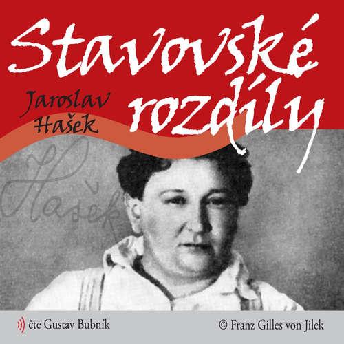 Audiokniha Stavovské rozdíly - Jaroslav Hašek - Gustav Bubník