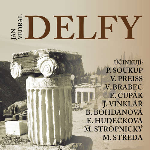 Audiokniha Delfy - Jan Vedral - Vladimír Brabec