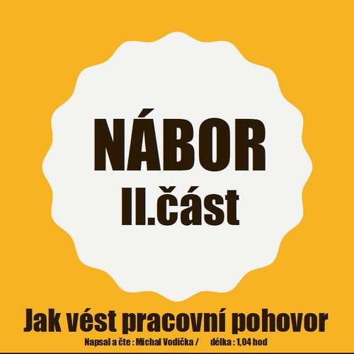 Audiokniha Nábor - Jak vést pracovní pohovory (II. část) - Michal Vodička - Michal Vodička