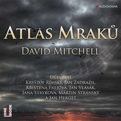 Atlas Mraků - David Mitchell (Audiokniha)