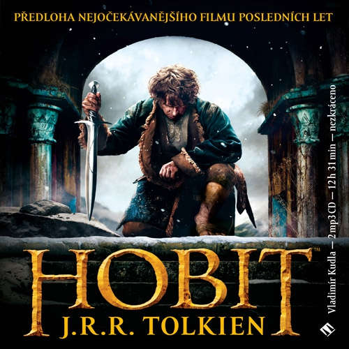 Audiokniha Hobit - John Ronald Reuel Tolkien - Vladimír Kudla