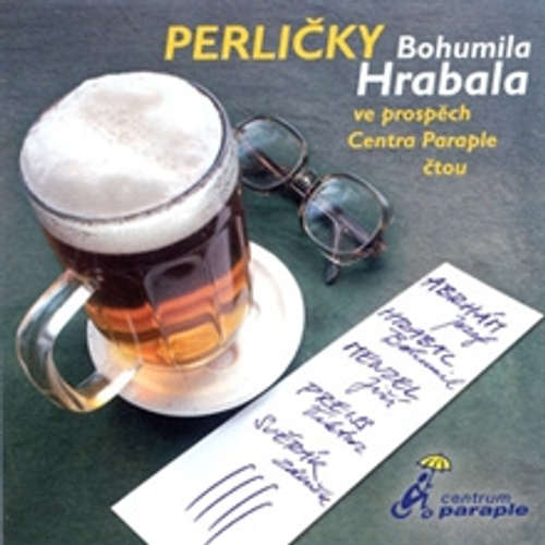 Audiokniha Perličky Bohumila Hrabala - Bohumil Hrabal - Josef Abrhám