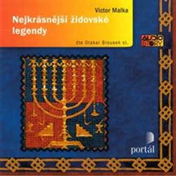 Audiokniha Nejkrásnější židovské legendy - Victor Malka - Otakar Brousek