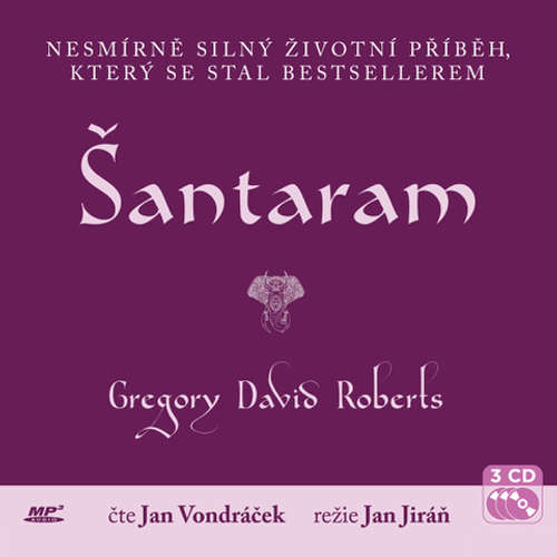 Audiokniha Šantaram - Gregory David Roberts - Jan Vondráček