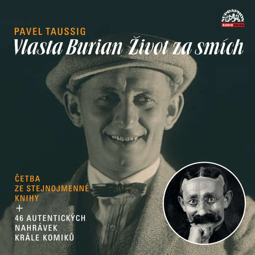 Audiokniha Vlasta Burian / Život za smích - Pavel Taussig - Radúz Mácha