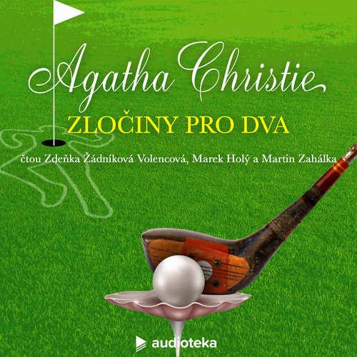 Audiokniha Zločiny pro dva - Agatha Christie - Marek Holý