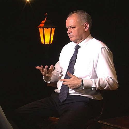 .pod lampou Andrej Kiska: Môj sen o Slovensku