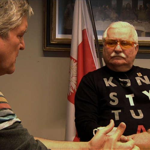 .pod lampou špeciál: Lech Wałęsa