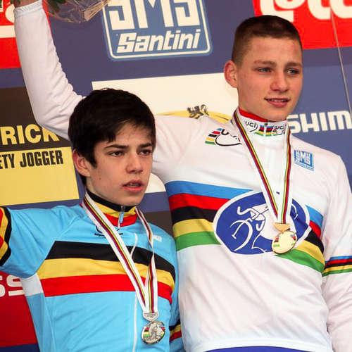 Mathieu van der Poel a Wout van Aert, nové hvězdy silnice