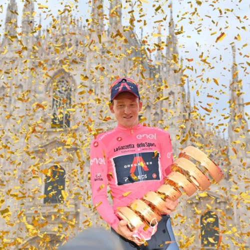 Tao Geoghegan Hart je šampiónem Gira a velmi dramatická etapa na Vueltě