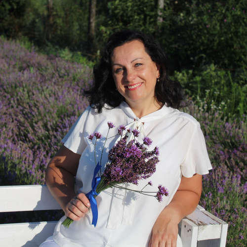 Šťastná zahradnice Jana Fryčová
